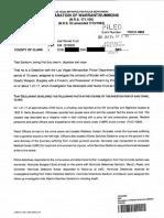Joel Nunoz Cruz Arrest Report