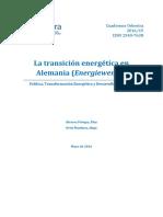 La Transición Energética en Alemania Energiewende - Versión Web