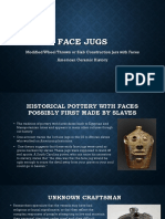 face pottery