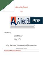 A.basit Nazir (Alied Bank Ltd,. Final Report)