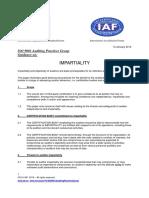 APG Impartiality2015