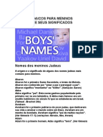 Nomes Judaicos
