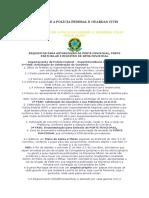Convênio Entre a Polícia Federal e Guardas Civis Municipais