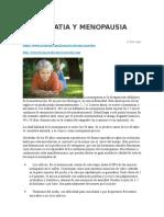 Homeopatia y Menopausia e Insomio
