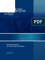 Informe Mensual Coyuntura Economica Enero 2010 Cr Bueno