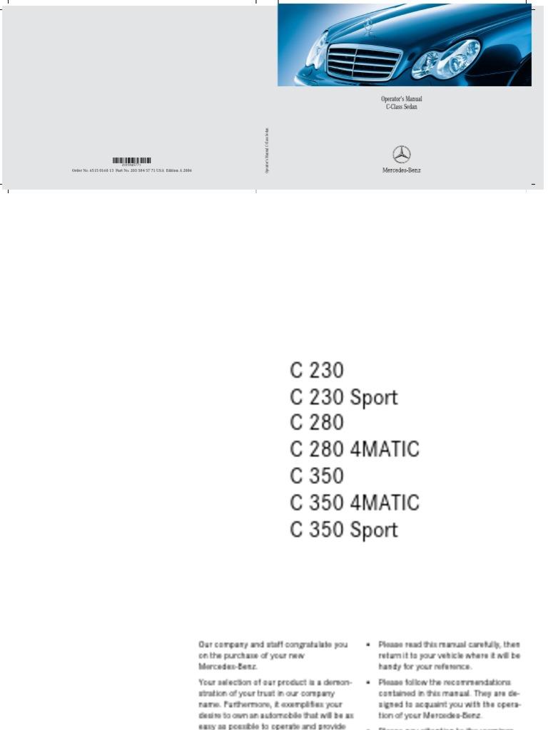 2006_c230_c280_c350_c230c350sport_c280c3504matic pdf
