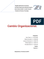 Entregable 1 Cambio Organizacional