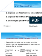 Organic Transistors OFTF