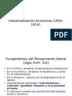 Industrialización Economía (1850 1914)