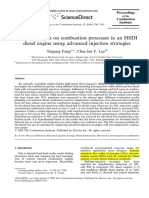 Bio-diesel Effects on Combustion Processes in an HSDI Diesel Engine Using Advanced Injection Strategies