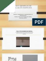 Ejemplos de Fallas en Edificios