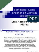 Seminario Como Enseñar Ciencias Sociales Version 97