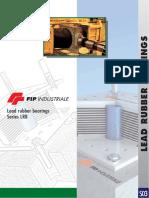FIP Industriale Lead rubber bearings Series LRB