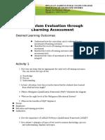 Module in Curriculum