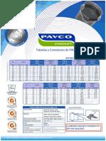 1 TUBERIAS PAVCO NTP ISO 1452 (Abastecimiento de Agua y Alcantarillado)