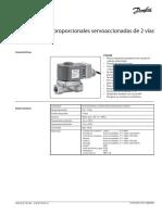 sevrovalvula danfos datasheet