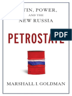 Petrostate Putin Power