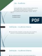Plano de Auditoria2 - Apresentação