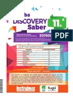 Prueba Discovery 11 - Matematicas