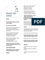 Cantos Domingo de Ramos