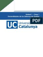 c1- Generalidades de Los Sistemas de Gestion