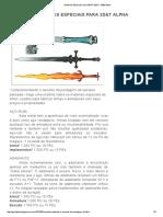 Materiais Especiais Para 3D&T Alpha - 3d&t Alpha