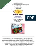February 2017 PFLAG Buffalo Niagara Newsletter