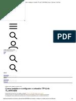 Como Instalar e Configurar o Roteador TP-Link TL-WR740N _ Dicas e Tutoriais _ TechTudo
