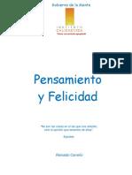 Pensamiento y Felicidad Reinaldo Carreño