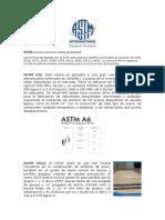 Astm Informe