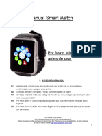 SmartWatch-A1 Manual PT