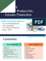 Tema 5 Al 6 Plan de Producción - Estudio Financiero