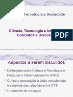 Ciência, Tecnologia e Inovação - Conceitos e Discussões