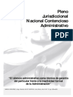 Pleno Jurisdiccional Nacional Contencioso Administrativo