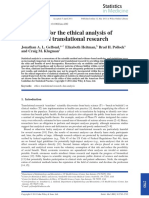 Gelfond_et_al-2011-Statistics_in_Medicine Ethical Analysis of Clinical and Translational Data