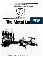 The Metal Lathe by David J Ginger