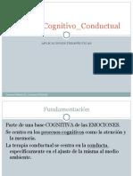 Cognitiva conductual