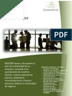 Brochure de Rescorp BCM