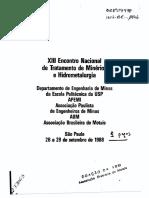 Caracterização Tecnológica por Análise de Imagem - Um Método de Estudos Mineralógicos