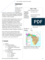Niger–Congo Languages - Wikipedia, The Free Encyclopedia