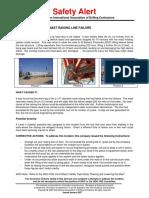 IADC Safety Alert Sa-07-03
