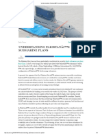Understanding Pakistan's submarine plans