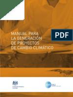 Manual Para La Generación de Proyectos de Cambio Climático