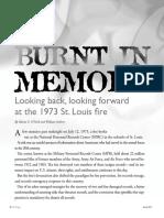 Burnt in Memory