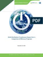 SEAD Distribution Transformers Report_Part 1_Comparison of Efficiency Programs