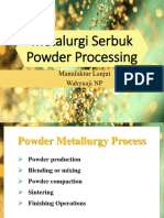 2. Powder Processing