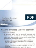Chapter Two-four Sector Economy