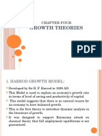 Chapter Four Growth Theories