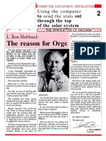 Scientology INCOMM 1985 Newsletter