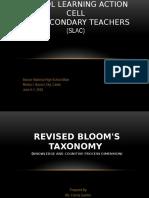 Blooms Taxonomy Final2